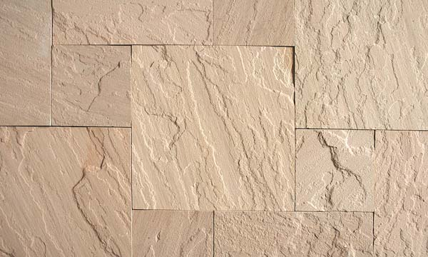 Dholpur Beige Sawn Tiles Surface Natural Project